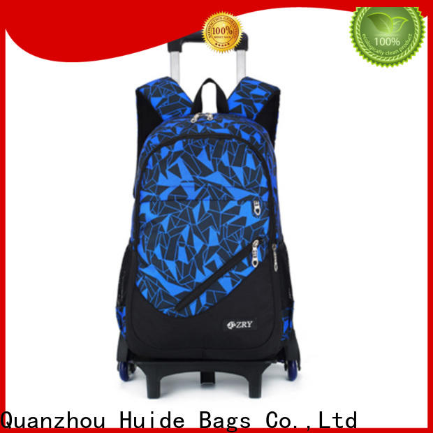 Huide Wholesale school trolley bags for girl factory for boy