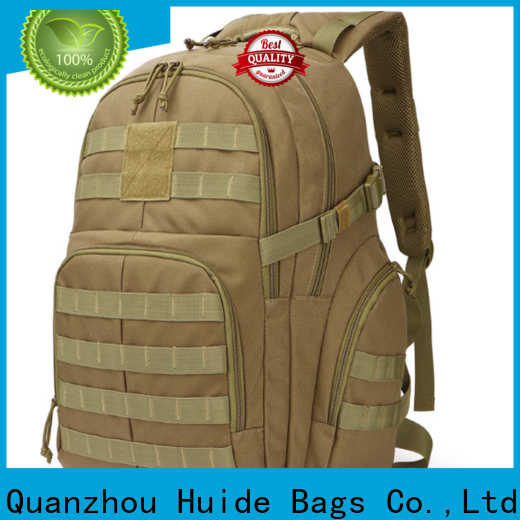 Custom quality tactical backpacks army factory for laptop