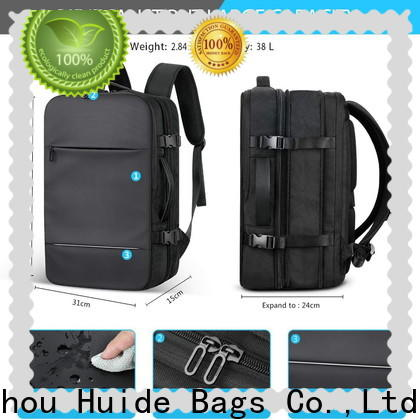 Huide Wholesale custom bags for business company for men
