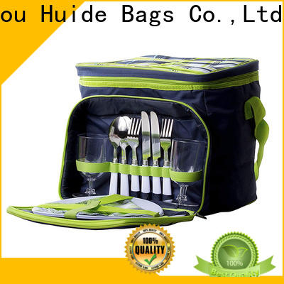 Huide backpacklunch 2 person backpack picnic set for business for life