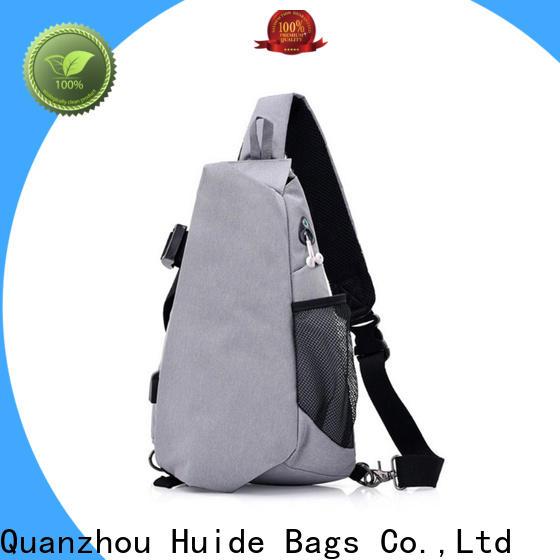 Huide men chest strap bag for business for girl