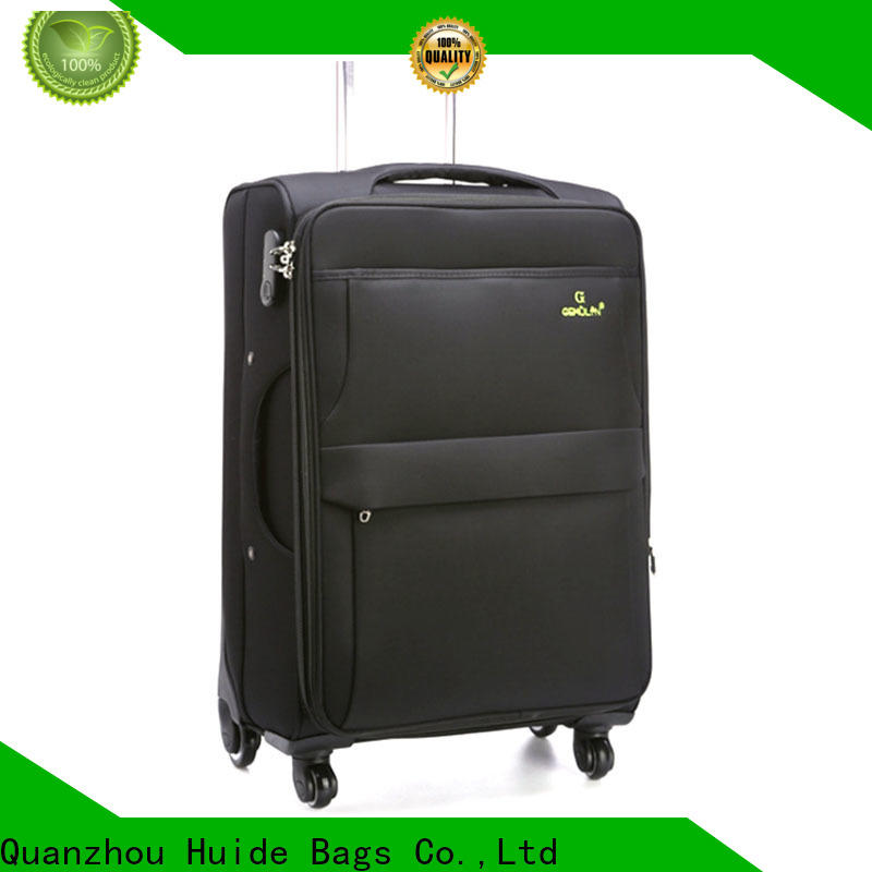 Huide luggage light travel luggage supply for kids