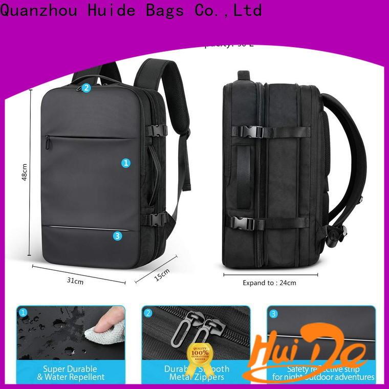 Huide Best light laptop backpack factory for men and women