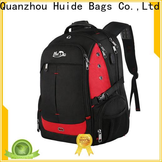 Huide big backpack wholesaler supply for men
