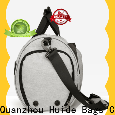 Huide Top canvas gym duffel bag for business for woman