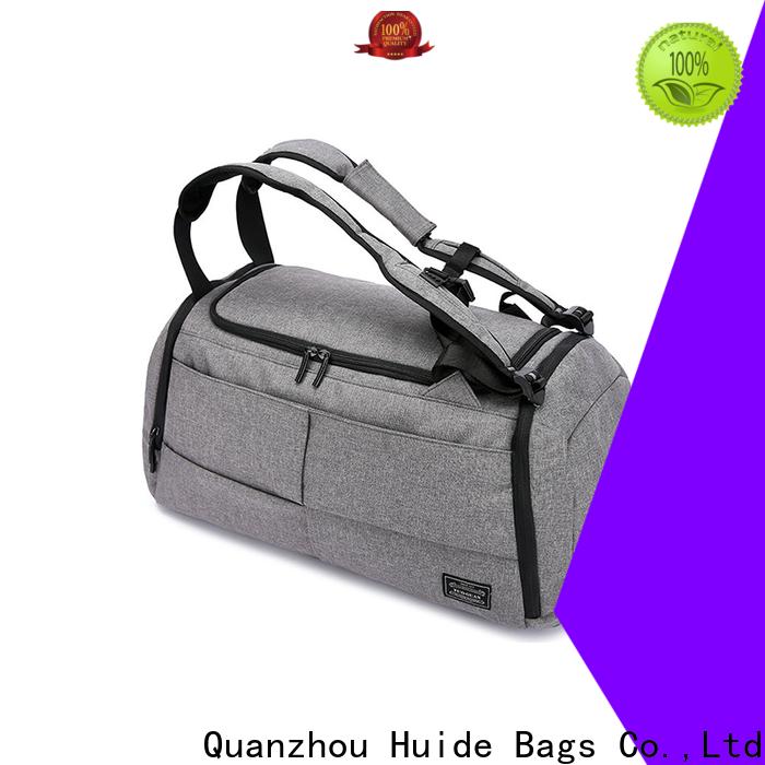 logo printed shopping bags & duffel backpack