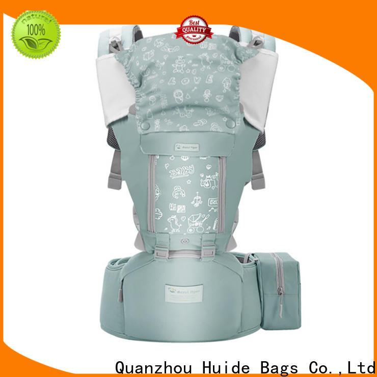Huide adjustable wholesale backpacks in bulk manufacturers for mother care