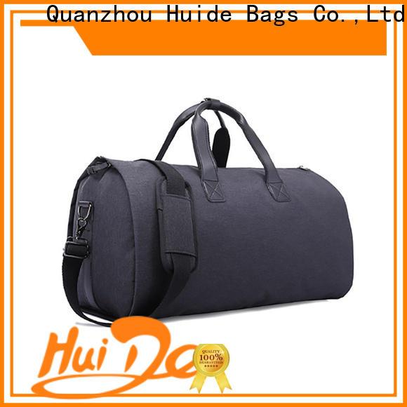 high end garment bags & cool military backpacks
