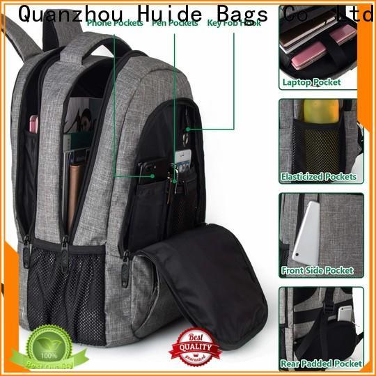Huide antitheft casual school backpacks factory for school