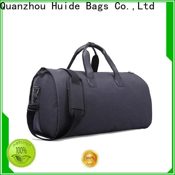 collapsible garment bag & medium size duffle bag
