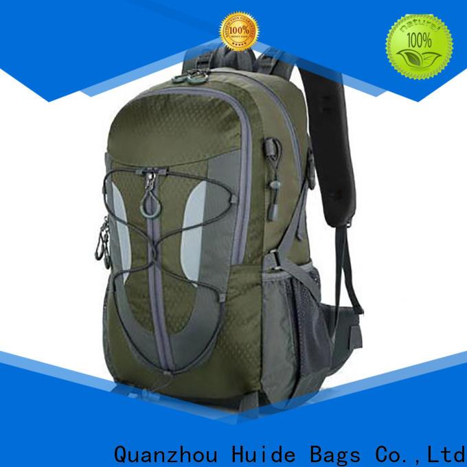 slim hiking backpack & custom made shopping bags
