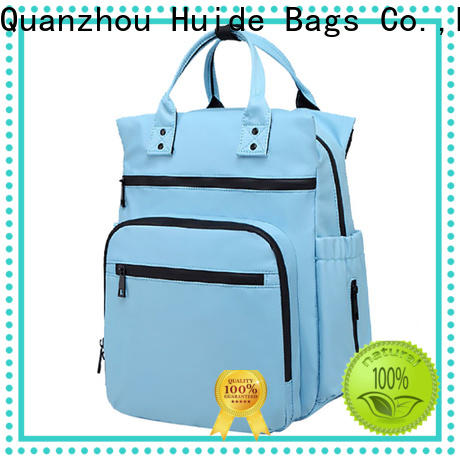 Huide diaper cute nappy bags manufacturers for baby girl