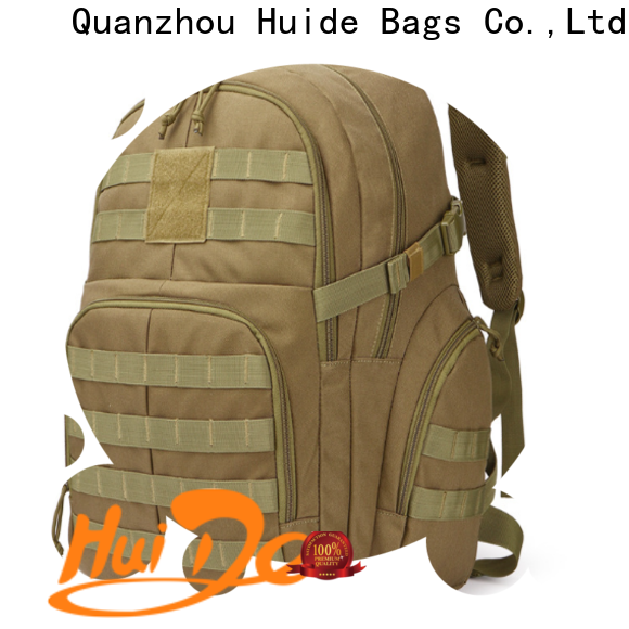 Huide upgrade army backpack bags manufacturers for laptop
