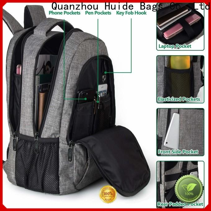 Huide Wholesale cool casual backpacks for business for college