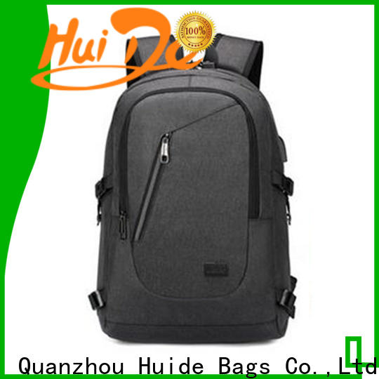 Latest men's high school backpacks laptop factory for high school students