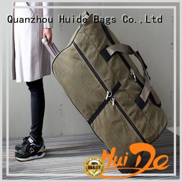 Huide enterprise luggage trolley wheels information for office