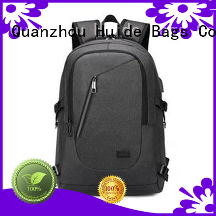 Huide high end fashionable backpacks for high school online for high school