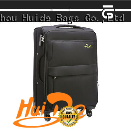 Huide popular softside luggage quotation for men