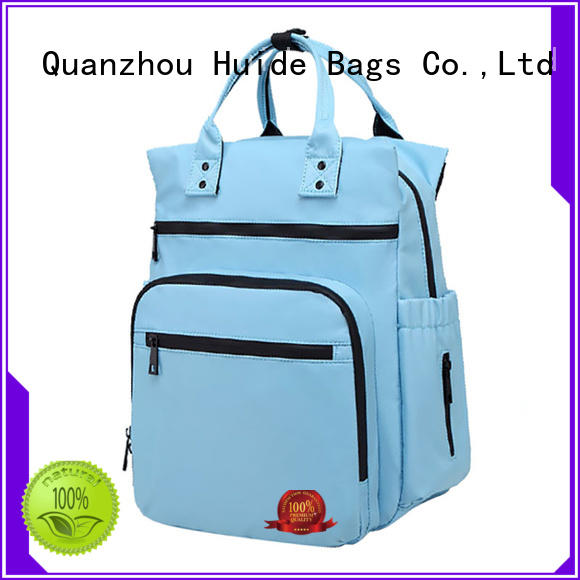 Huide unique boy diaper bags kind for baby girl