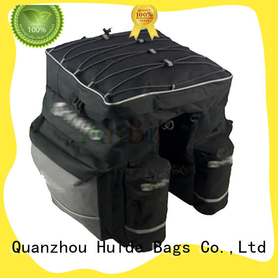 Huide bicycle cargo bags supply for family