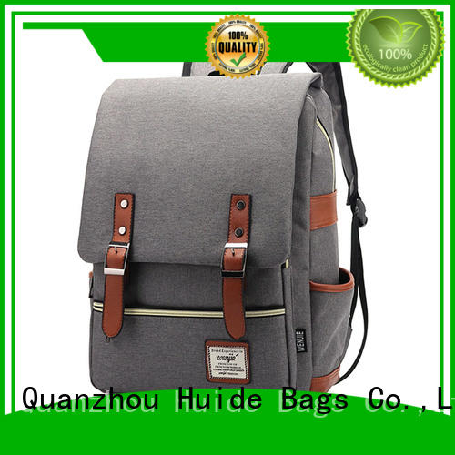 Huide fashionable simple backpack function for guys