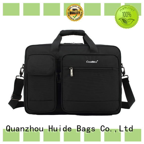 Huide practical soft briefcase bag wholesale price for ladies