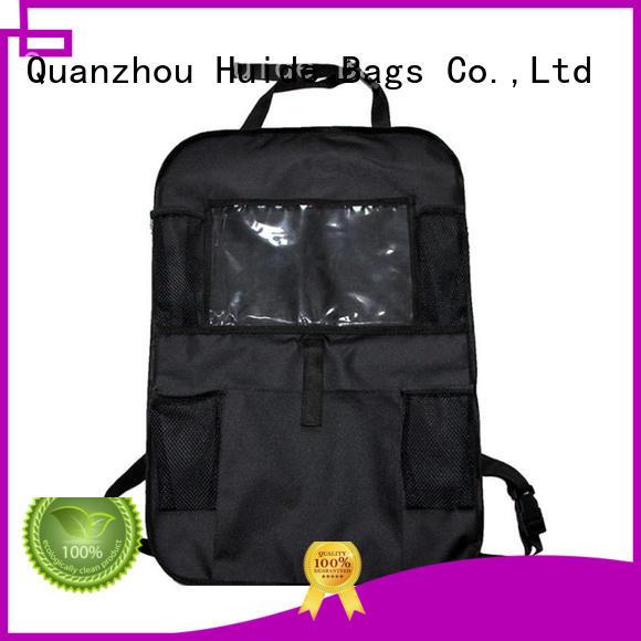ipad car organiser & glitter backpack wholesale