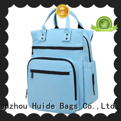 Huide new newborn baby diaper bag quotation for toddler
