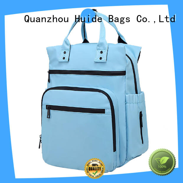 Huide cute fashionable diaper bags type for baby girl