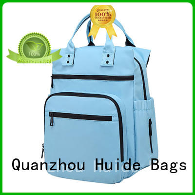 Huide practical maternity diaper bag type for twins