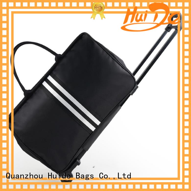 Huide professional custom luxury trolley luggage leaderboard for travel