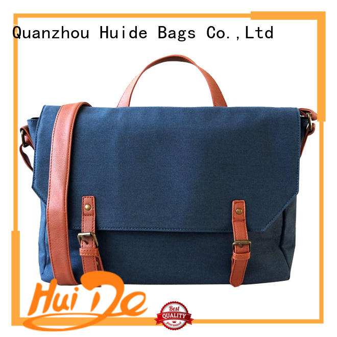 Huide laptop athletic messenger bag sale for college girl