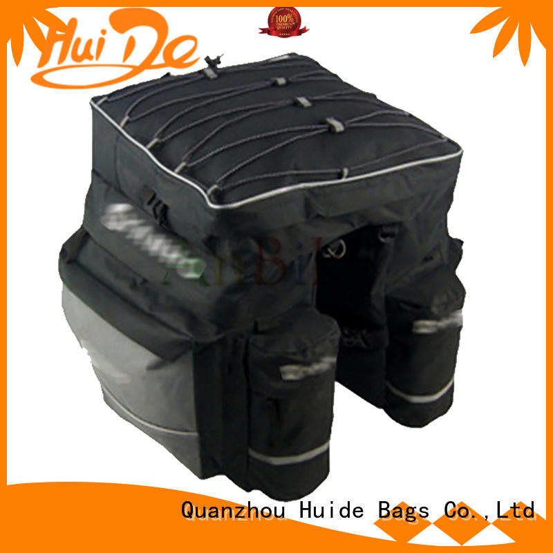 Huide convenient bicycle rear trunk bag apply for family