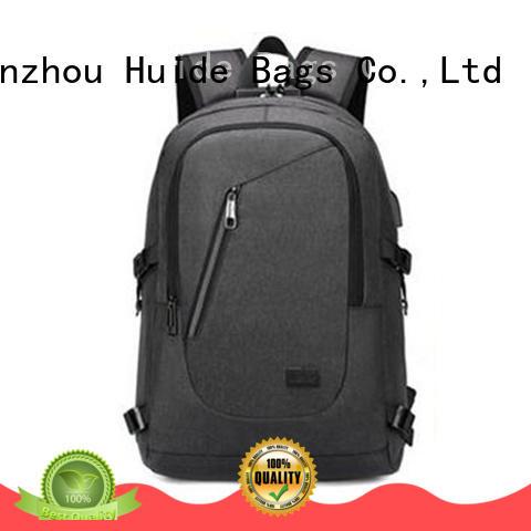Huide high end top school backpacks online for high school