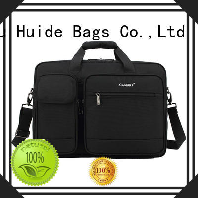 Huide popular briefcase with shoulder strap wholesale for money
