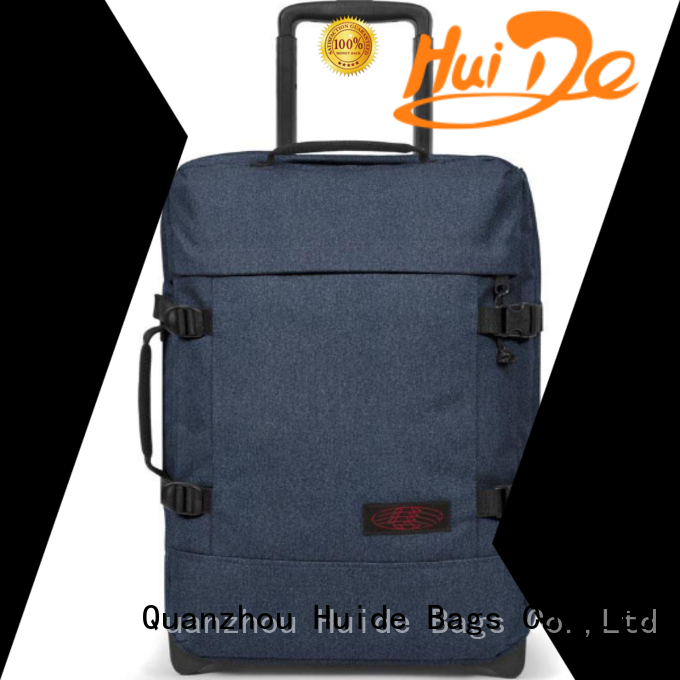 Huide aristocrat trolley bag on sale for market