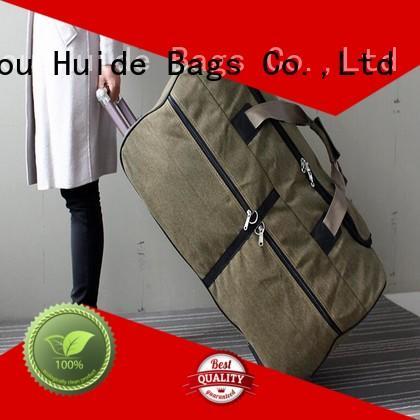 professional custom trolley duffel information for travel