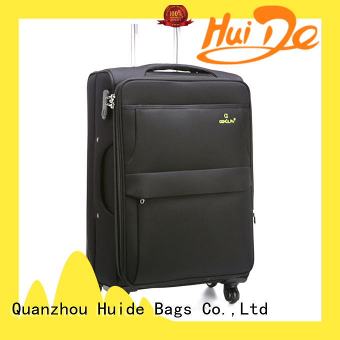 Huide soft sided cabin luggage quotation for women