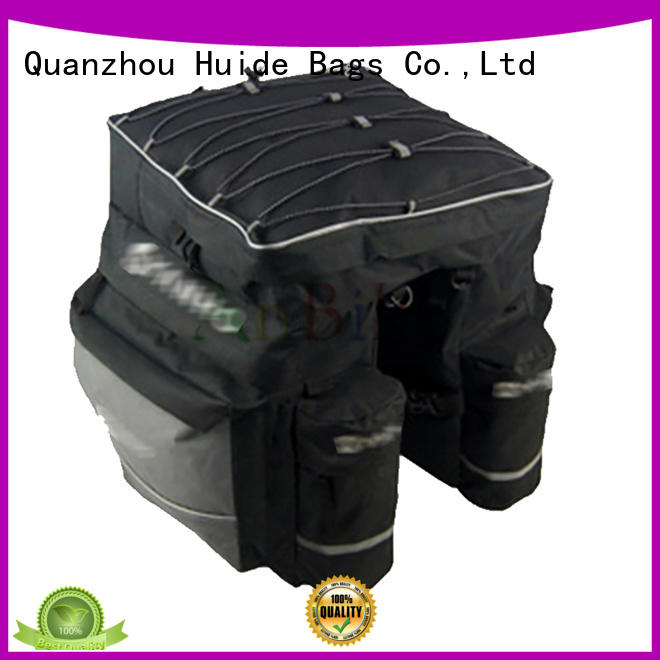 Huide new bicycle rear carrier bags size for train