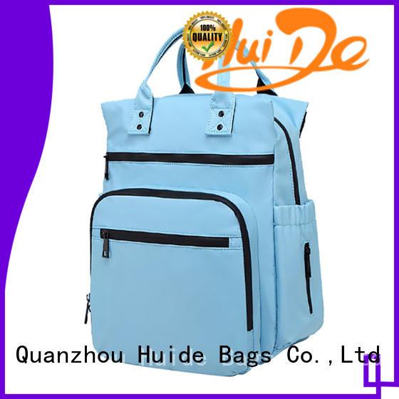 Huide practical travel diaper bag kind for dad