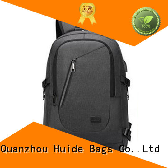 Huide high end school backpack special price for high school students