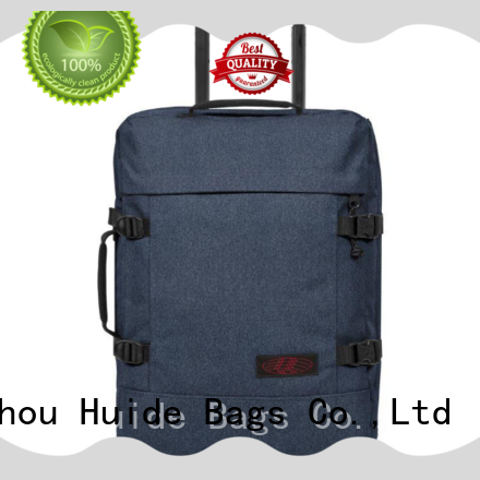 Huide trolley bag on wheels price for men and women