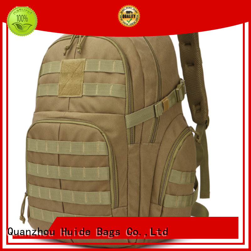 Huide customization quality tactical backpacks packaging for dogs