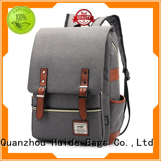 Huide smart casual backpack function for guys