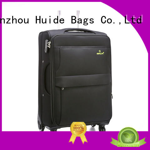 Huide best soft sided luggage introduce for kids