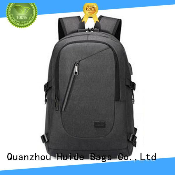 Huide professional custom-made top school backpacks design for college girl