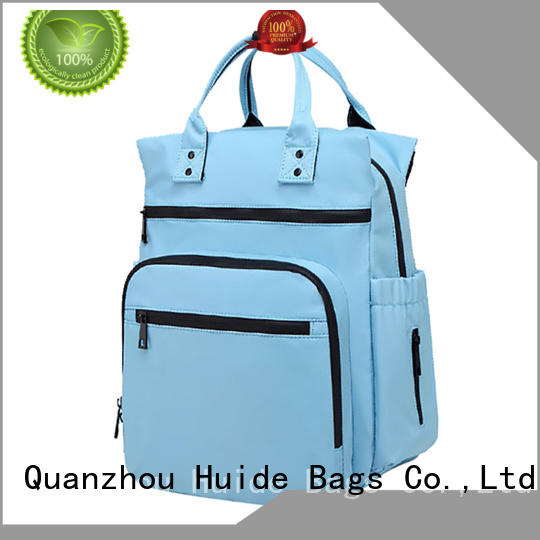 Huide neutral baby diaper bags company for twins