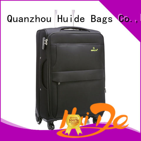 making high quality soft luggage product source for college girl