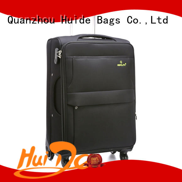 Huide high quality soft luggage introduce for women