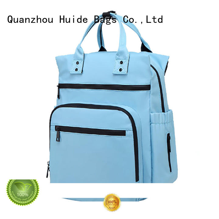 fashionable newborn girl diaper bags company for twins